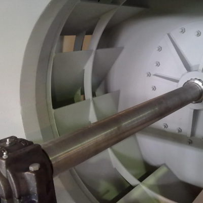 Antriebswelle eines Radialventilators