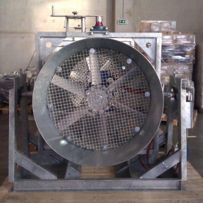 Axialventilator für die Stahlproduktion