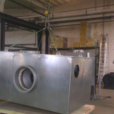 Schallschutzkabine für Radialventilatoren